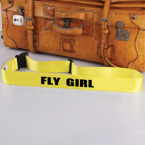 Bag Tag: Fly Girl