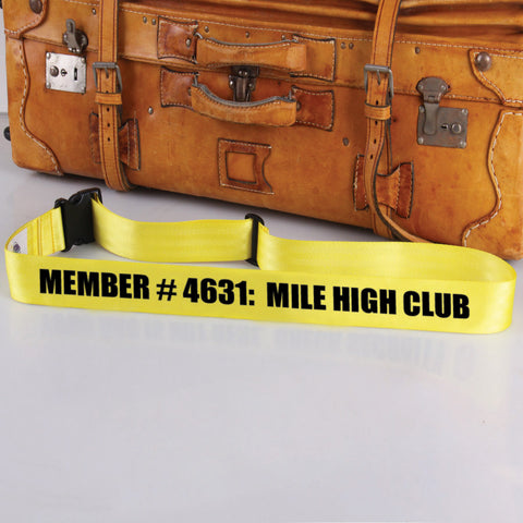 Bag Tag: Mile High Club