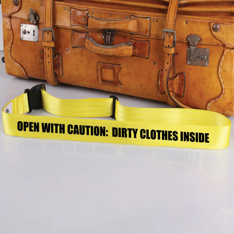 Bag Tag: Open With Caution