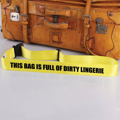 Bag Tag: Dirty Lingerie