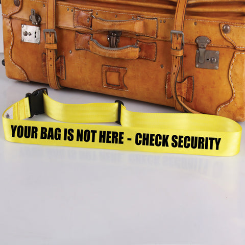 Bag Tag: Check Security