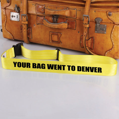 Bag Tag: Went To Denver