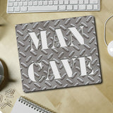 Diamond Plate Man Cave Mousepad