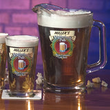 Personalized Beer Glasses/Pitcher - Neighborhood Pub
