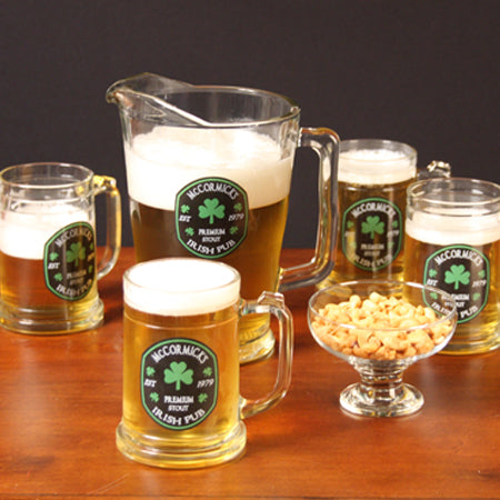 Premium Irish Personalized Tankards/Pitcher
