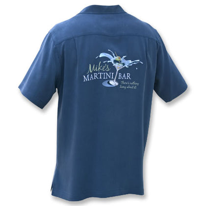Mike's Martini Bar Silk Shirt