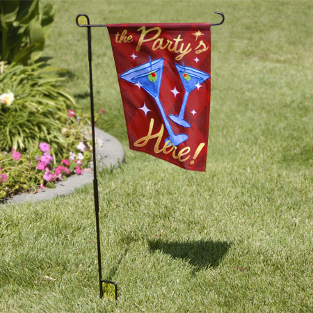 The Party Is Here Flag, Small