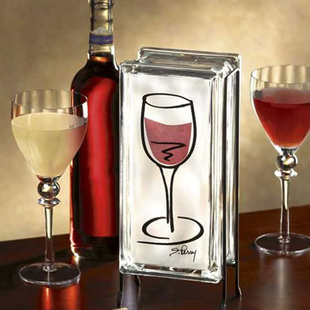 Wine Glass Glowblock®
