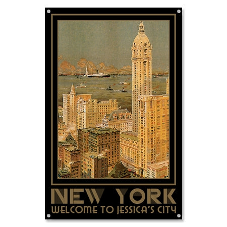 Personalized New York City Sign