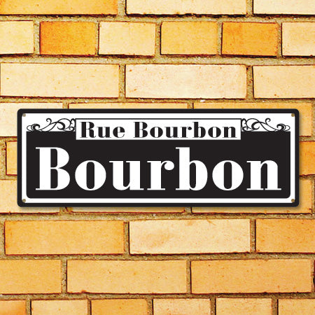 Personalized Street Signs >> New Orleans Style Personalized Street Sign