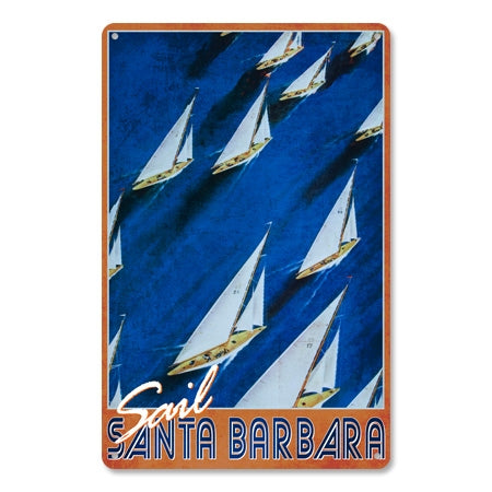 Personalized Vintage Sailing Sign