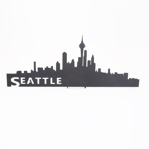 Decorative Metal Seattle Skyline Plaque