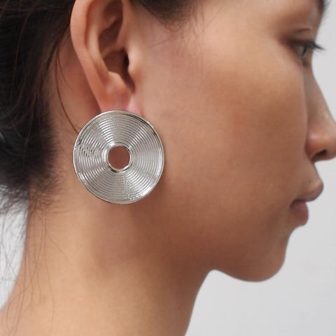 big round earrings online
