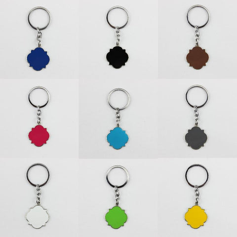 0d2c2d0e76cad Enamel Blanks Monogrammed Keychain - Accessories - LoxLux Jewelry