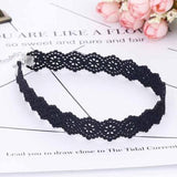 17MM Gothic Lace Ribbon Choker Necklace - necklace - LoxLux Jewelry
