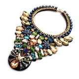 Fashion Rhinestone Statement Pendant Necklace - necklace - LoxLux Jewelry