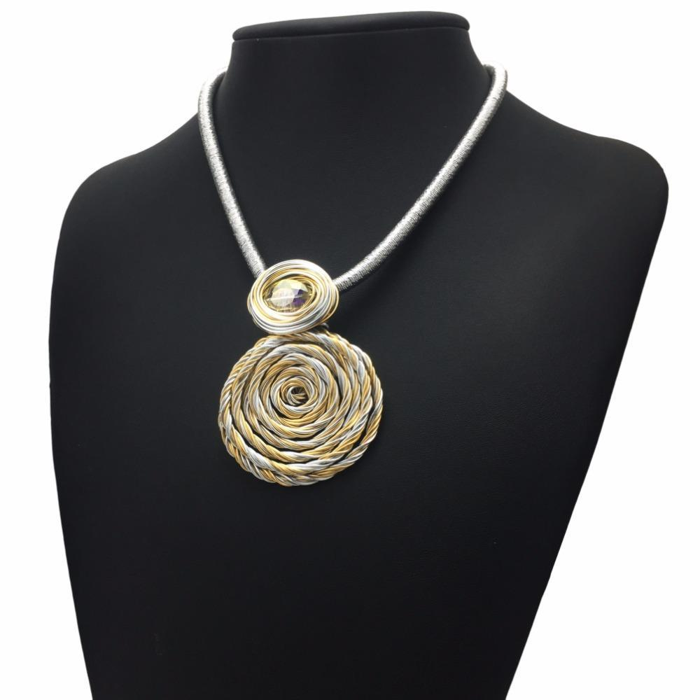 Choker Necklace Wire Weaving - WIRE Center •