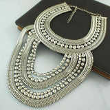 necklace Multilevel Chain Silver /  Gold Necklace LoxLux Jewelry