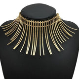 necklace Vintage Big Collar Torques Choker Necklace LoxLux Jewelry