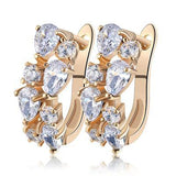 AAA Cubic Zirconia Studs Earrings - Earrings - LoxLux Jewelry