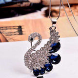Crystal Fashion Vintage Pendant Long Designer Necklace - necklace - LoxLux Jewelry
