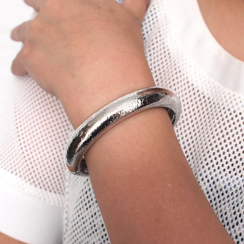Punk Alloy Metal Statement Cuff Bracelets