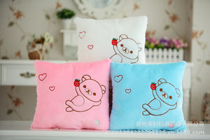 Cute Rilakkuma Plush Pillow Toys with Led Light Glow in Dark