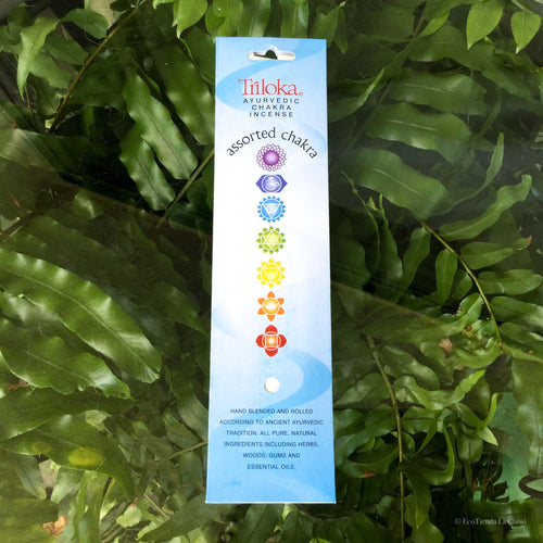 Chakra Assorted Herbal Incense - EcoTienda La Chiwi