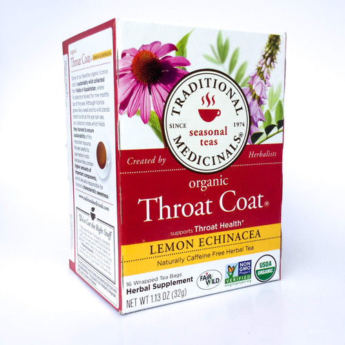 Throat Coat Lemon Echinacea - EcoTienda La Chiwi