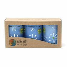 Hand-painted Candles - Masika Blue Design (box of 3)