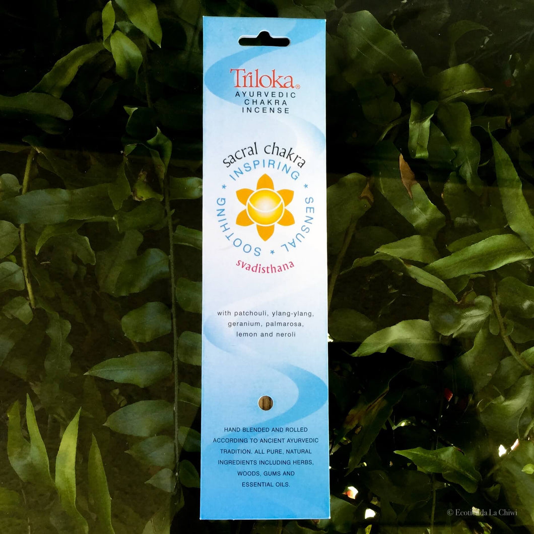 Chakra Herbal Incense - Sacral - Ecotienda La Chiwi