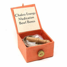 "Mini Meditation Bowl Box: 2"" Sacral Chakra"