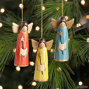 Smiling Angels ornament - Ecotienda La Chiwi
