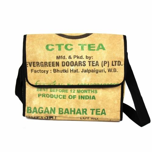 Tea Sack Messenger Bag - Ecotienda La Chiwi