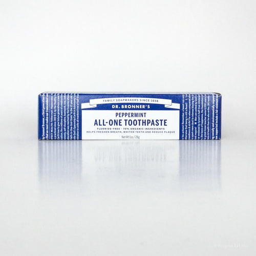 Travel-Size Peppermint All-One Toothpaste - Ecotienda La Chiwi