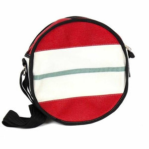 Round Shoulder Bag - Firehose - Ecotienda La Chiwi