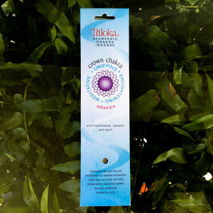 Chakra Herbal Incense - Crown - Ecotienda La Chiwi