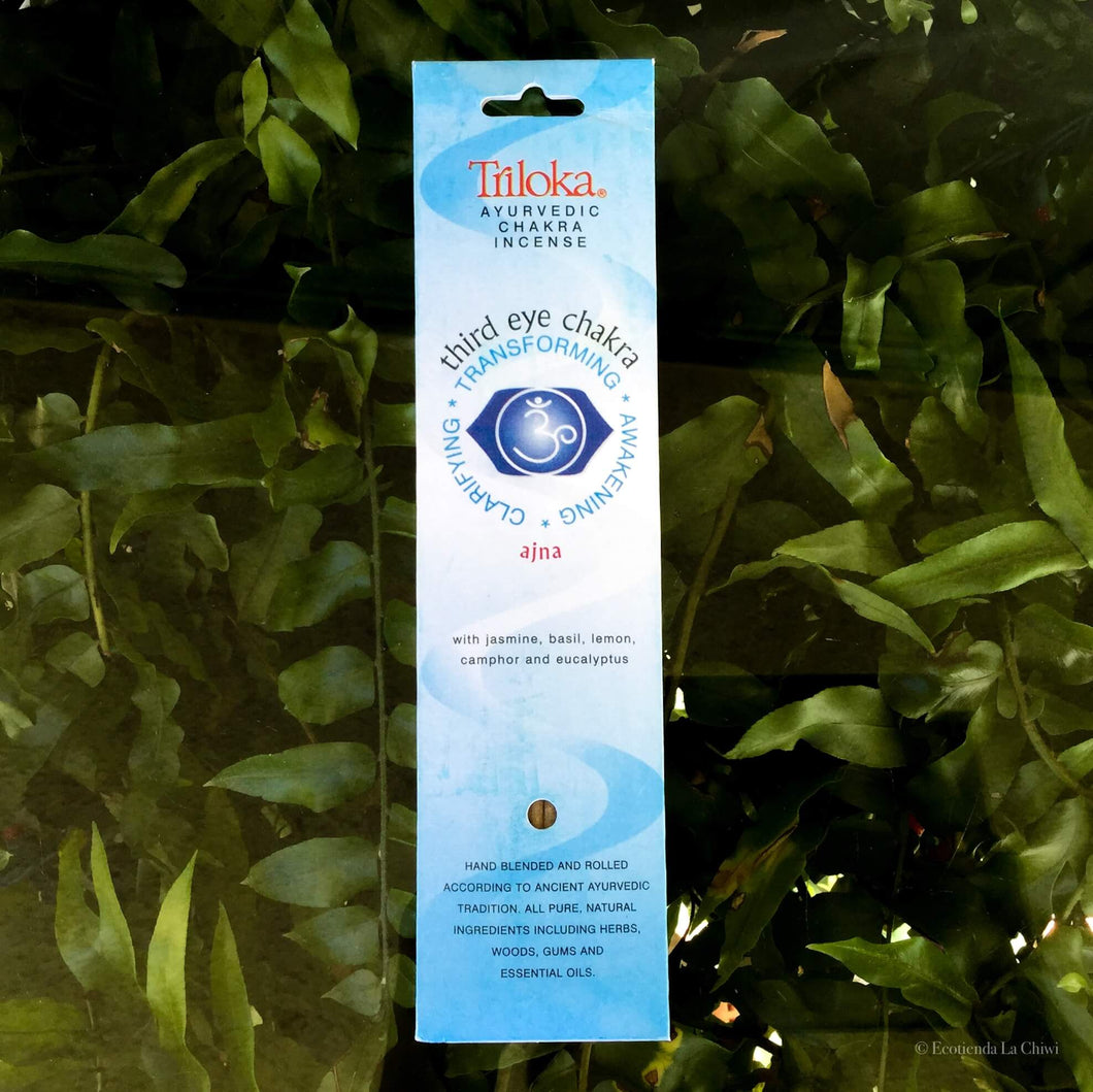 Chakra Herbal Incense - Third Eye - Ecotienda La Chiwi
