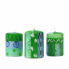 Hand-painted Candles - Farih Design (box of 3)