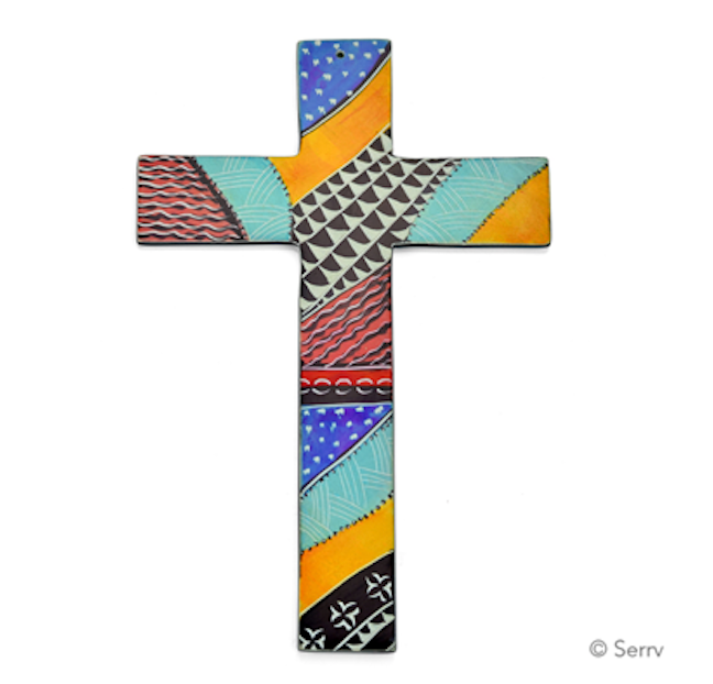 Kenyan Decorative Wall Cross