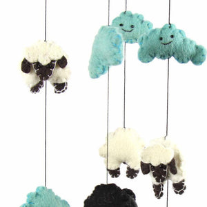 Felt Mobile - Counting Sheeps