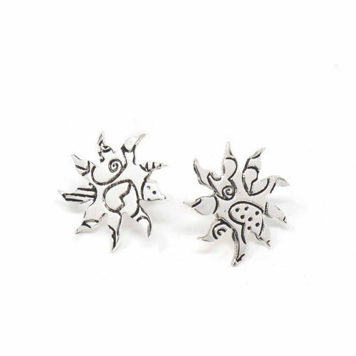 Stud Earrings - Sunburst