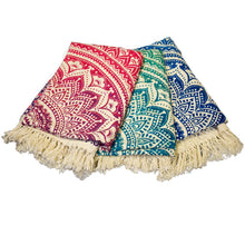 Mandala Throw - Green - Ecotienda La Chiwi