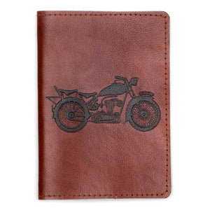"Sustainable Leather *On the Road"" Passport Cover"