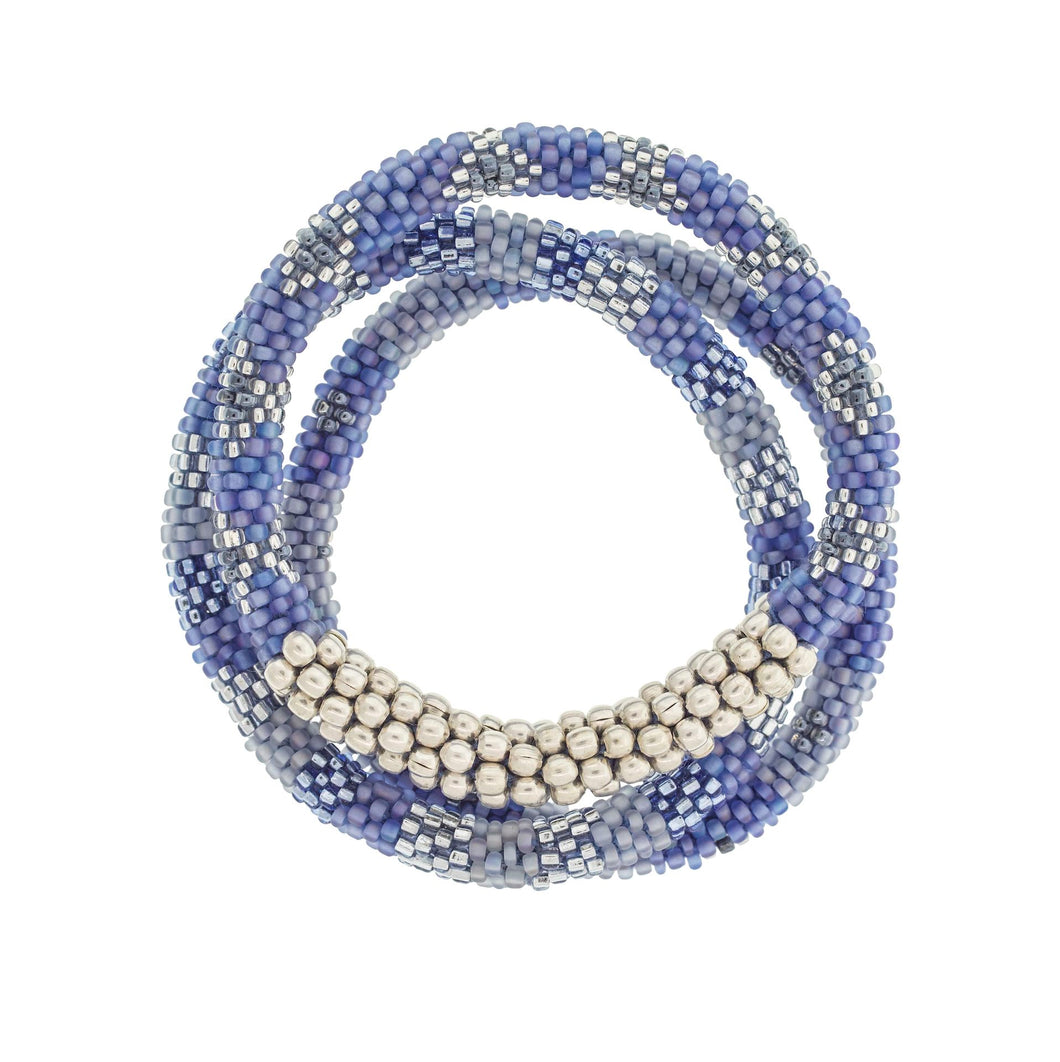Statement Roll-On Bracelets - Blue - Ecotienda La Chiwi