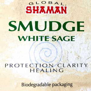 Smudge white sage incense - 3.5""