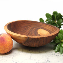 "Hand carved Olive Wood Bowl (7.5"") - Ecotienda La Chiwi"