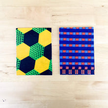 · Malawi textiles Greeting cards (set of 2) - Ecotienda La Chiwi
