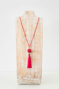 The Wanderer Tassel Necklace - Carousel - Ecotienda La Chiwi