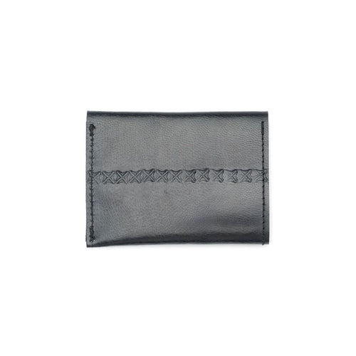Sustainable Leather Wallet - Black - Ecotienda La Chiwi